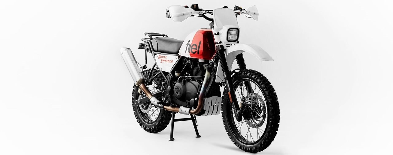 Royal Enfield Himalayan Rally Umbau von Fuel Motorcycles