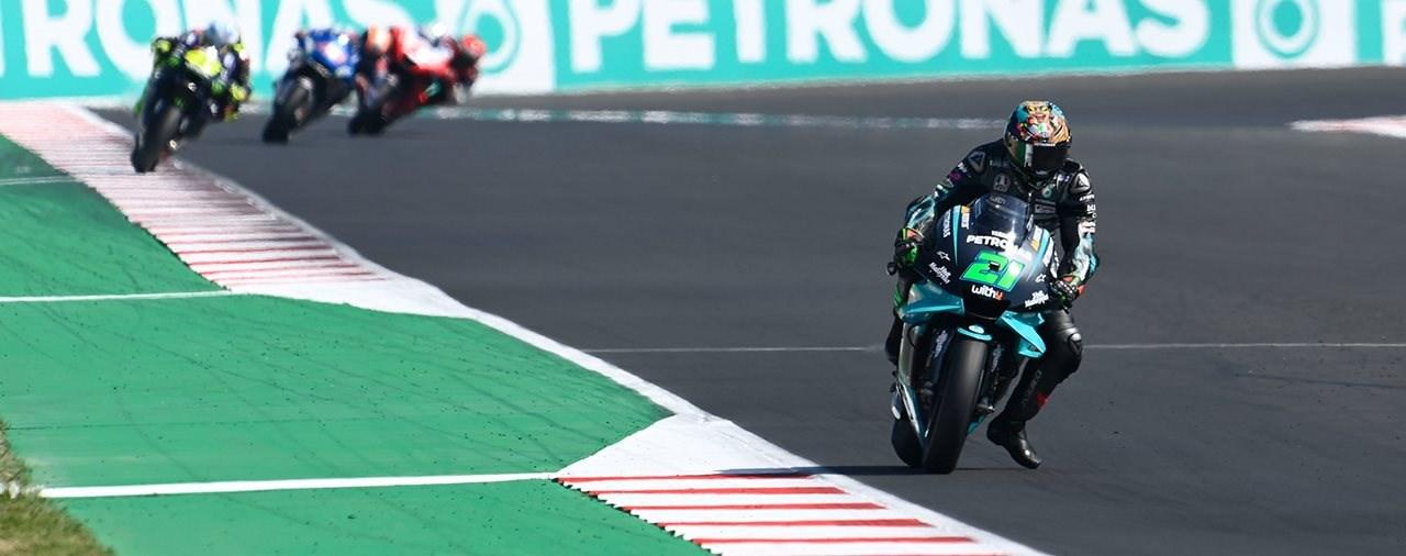 Franco Morbidelli holt seinen ersten MotoGP Sieg