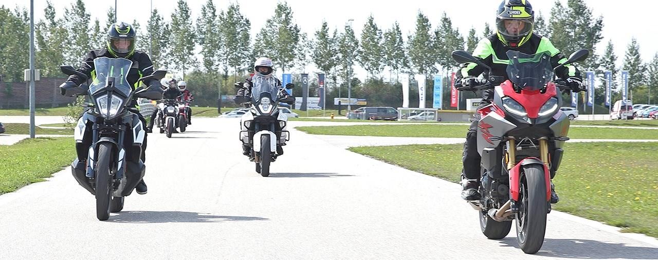 Gezieltes ÖAMTC Training für mehr Sicherheit auf zwei Rädern