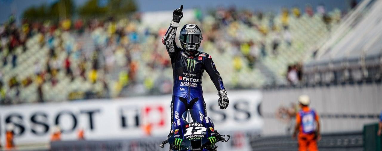 Vinales gewinnt mit Start-Ziel-Sieg zweiten Misano Grand Prix