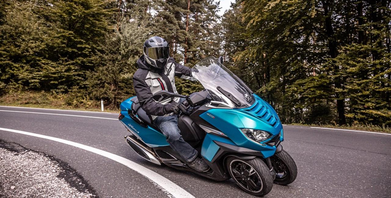 Peugeot Metropolis 400 2021 Test