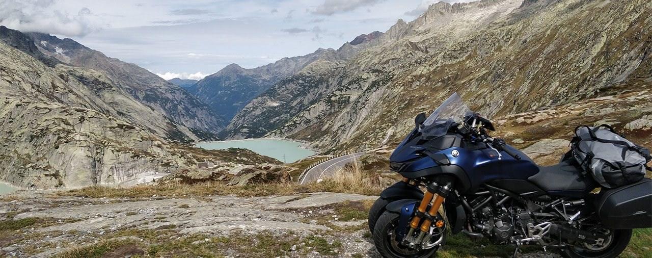 In den Alpen mit der Yamaha Niken GT - Schweiz Motorrad-Tour Pt.3