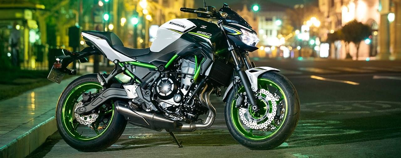 Neue Farben für die Kawasaki Z650 2021