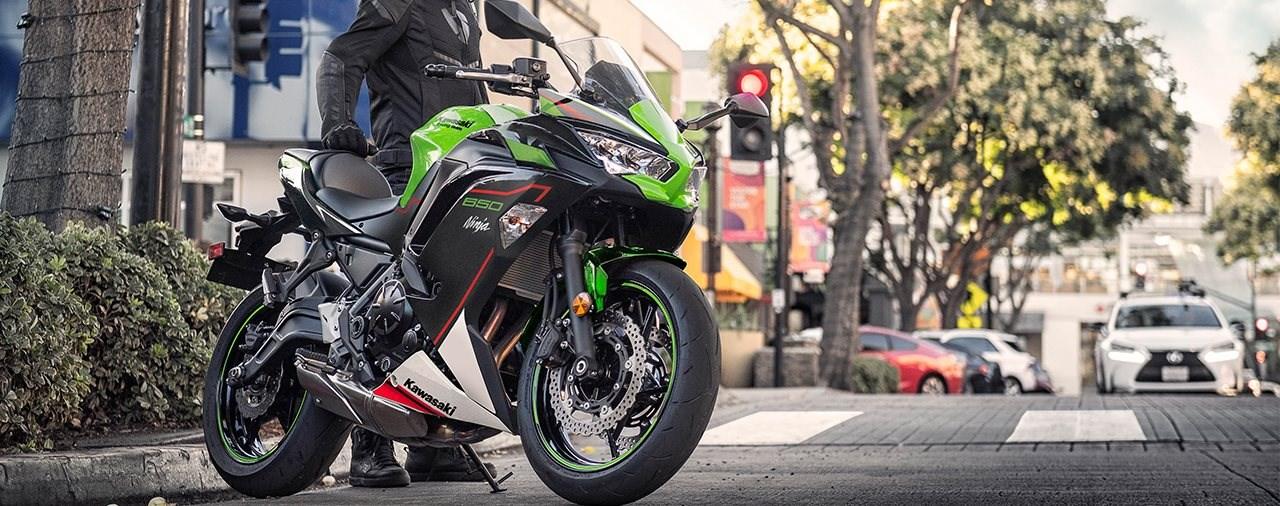 Neue Farben für die Kawasaki Ninja 650 2021