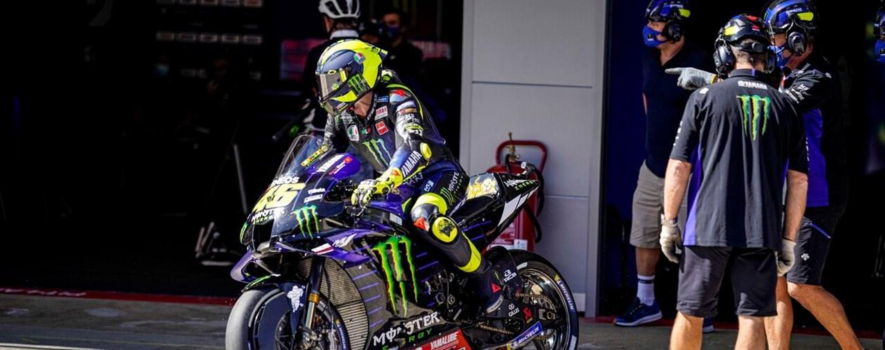 COVID-19 Fall im Yamaha MotoGP Team