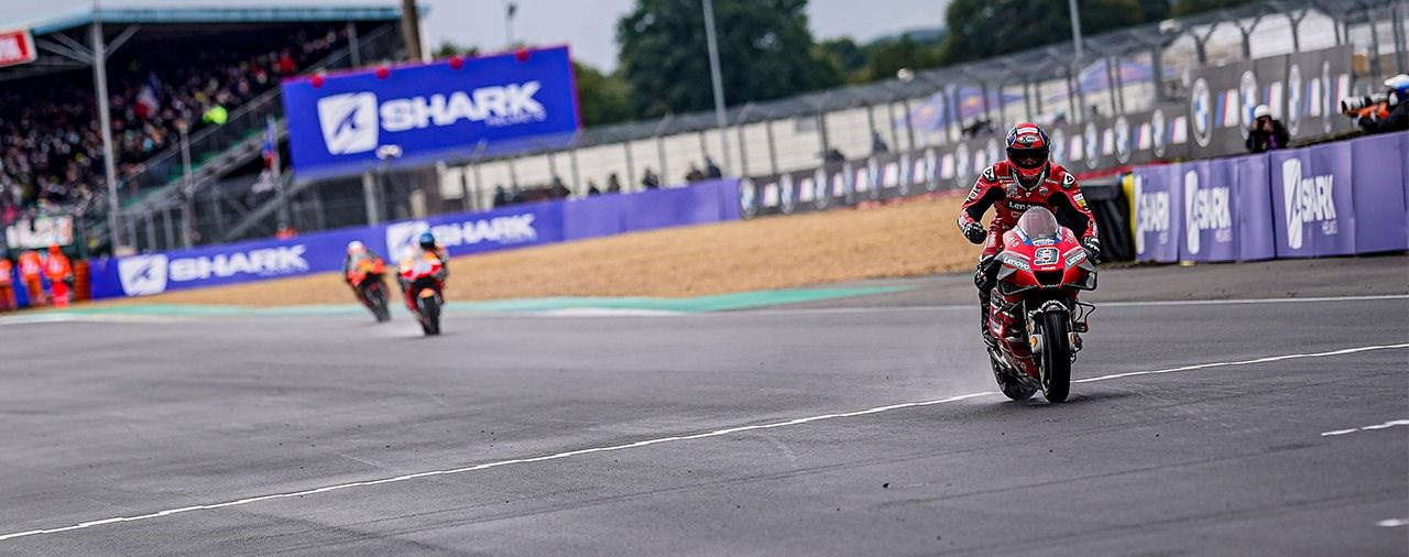 Ducati dominiert verregnetes MotoGP Rennen in Le Mans