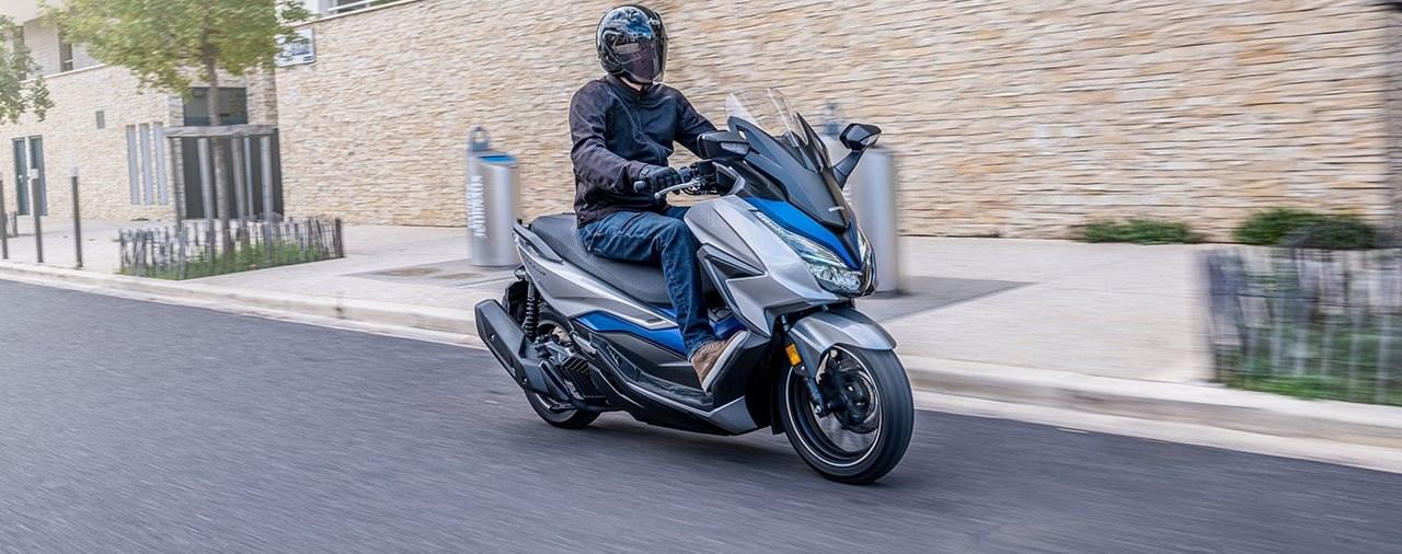 Starke Detailverbesserungen! Honda Forza 125 Modelljahr 2021