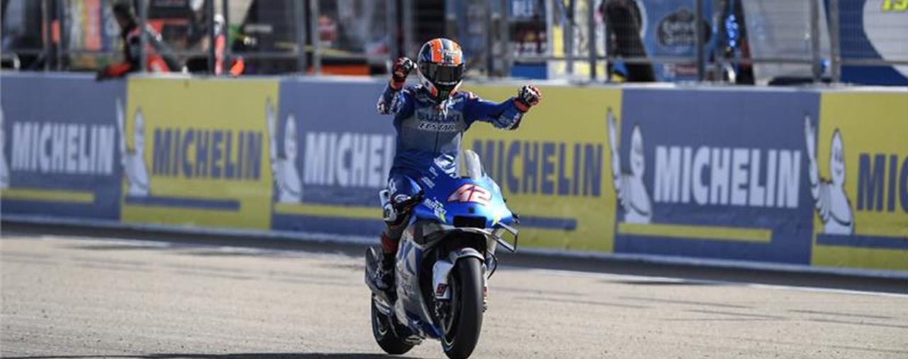 Suzukis Zeit ist gekommen! Rins gewinnt Aragon GP Nummer 1