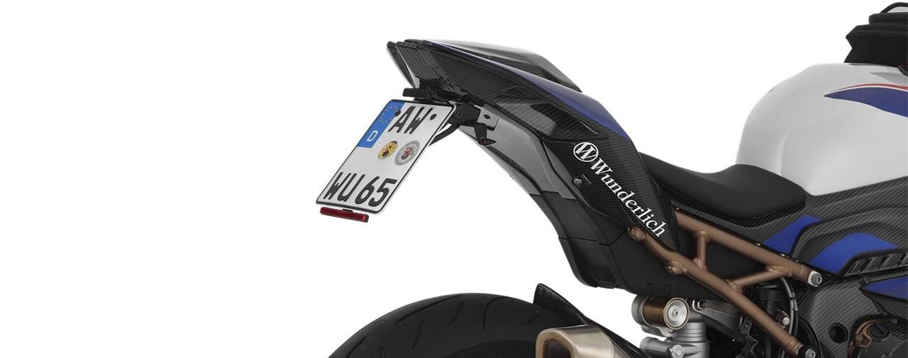 BMW S 1000 RR Trackday Kennzeichenhalter von Wunderlich