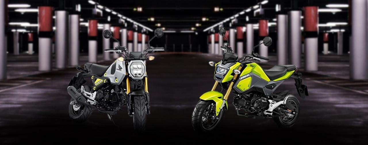 Honda MSX 125 vs. MSX125 Grom: alt gegen neu