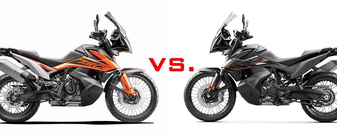 KTM 890 Adventure 2021 vs. KTM 790 Adventure Vergleichstest