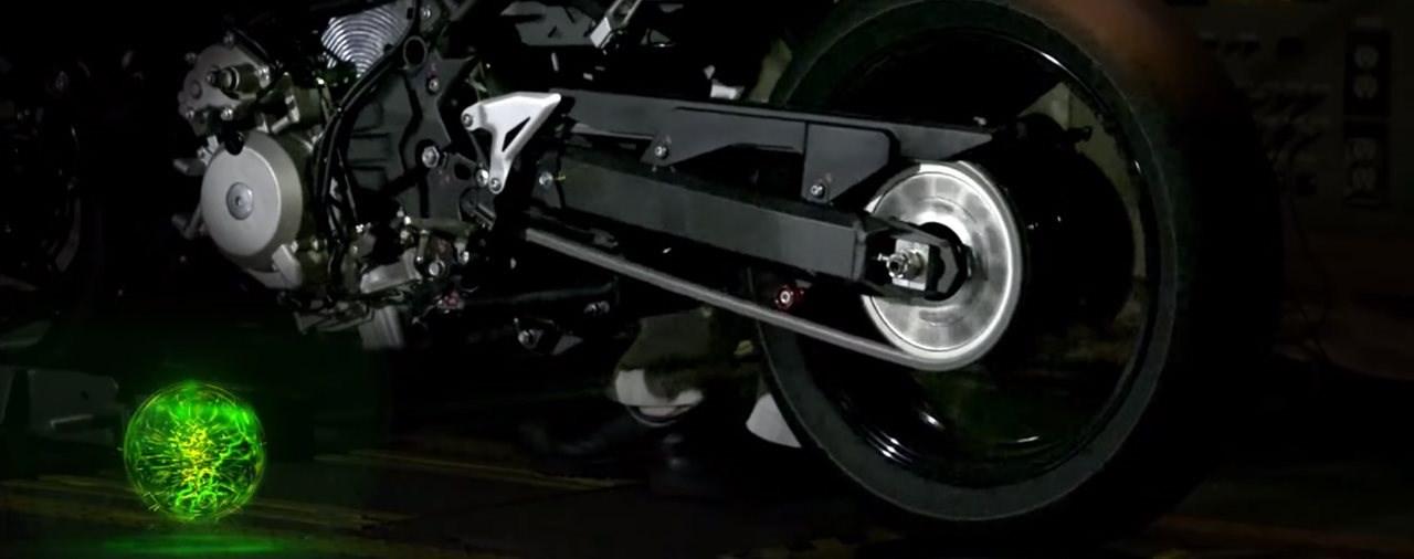 Kawasaki zeigt Teaser zu neuem Hybrid-System