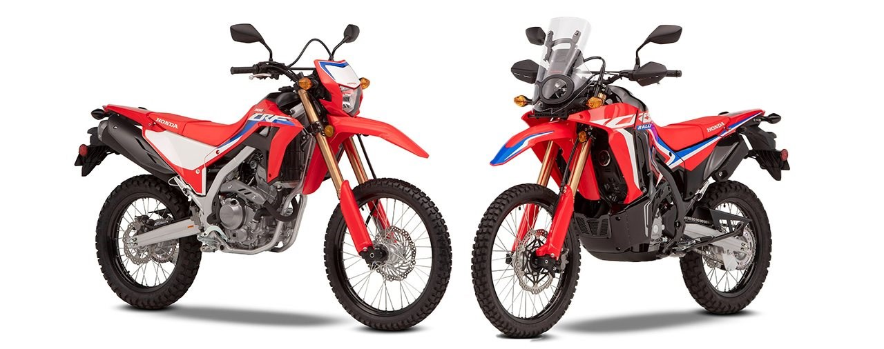 Honda CRF300L und CRF300 Rally 2021
