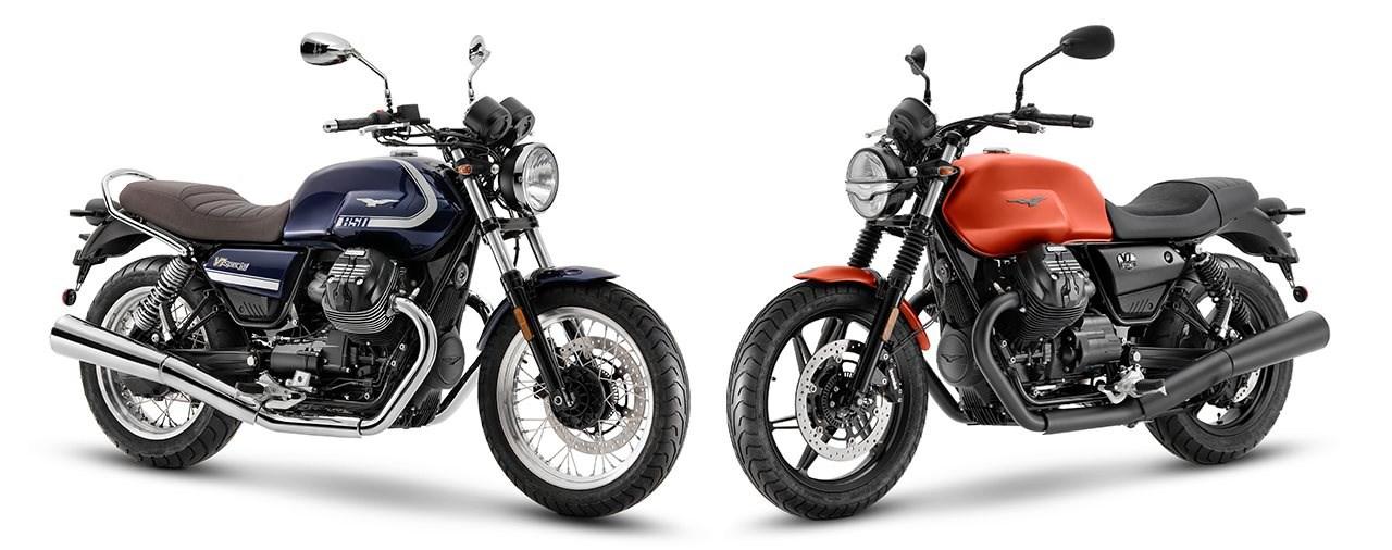 Moto Guzzi V7 Special und V7 Stone 2021 - mit neuem Motor!