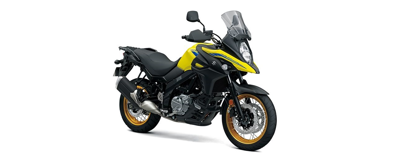 Neue Farben und Euro5 für die Suzuki V-Strom 650 2021