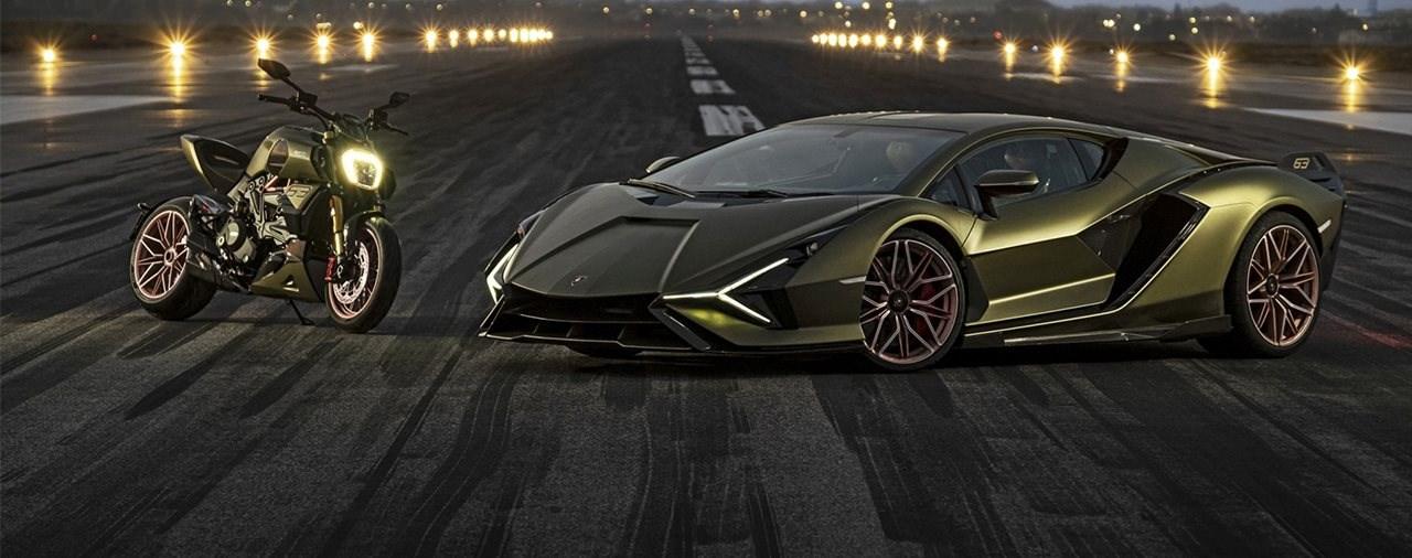 Das Design der Ducati Diavel Lamborghini 1260 im Detail