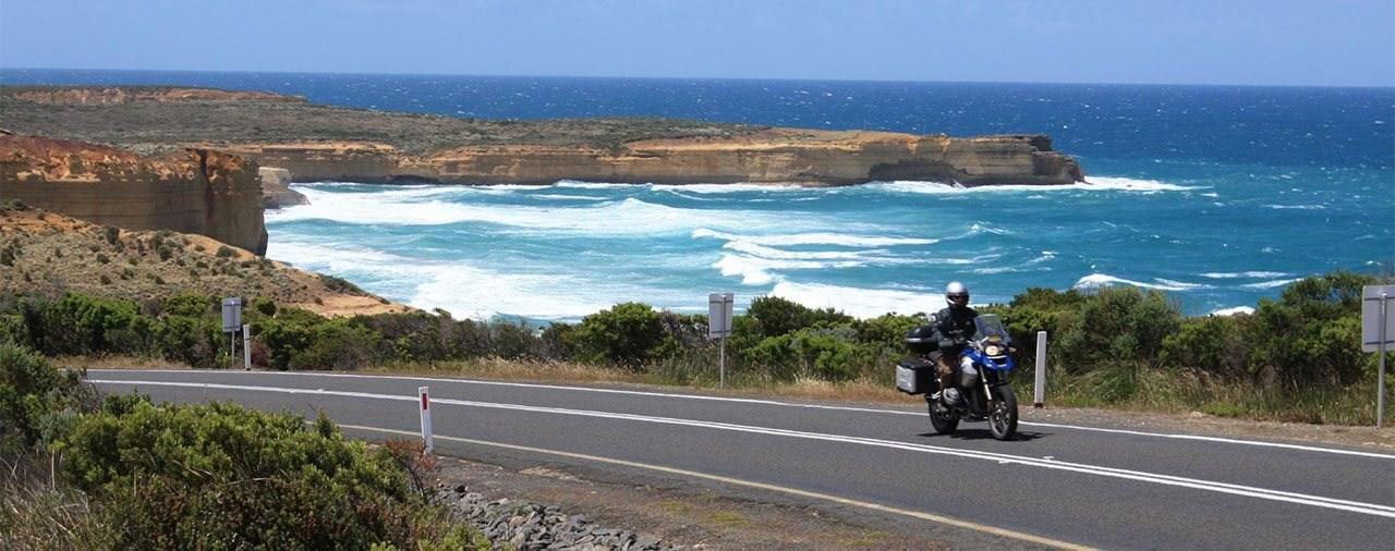 Mit dem Motorrad nach Süd-Australien und Tasmanien