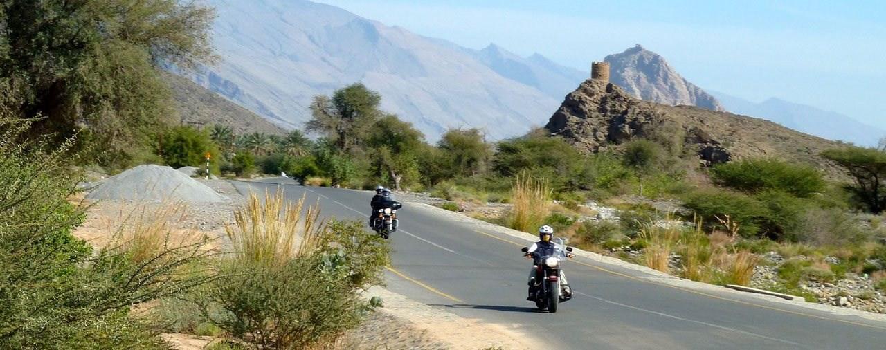 Motorrad Reise ins Wüsten-Paradies Oman