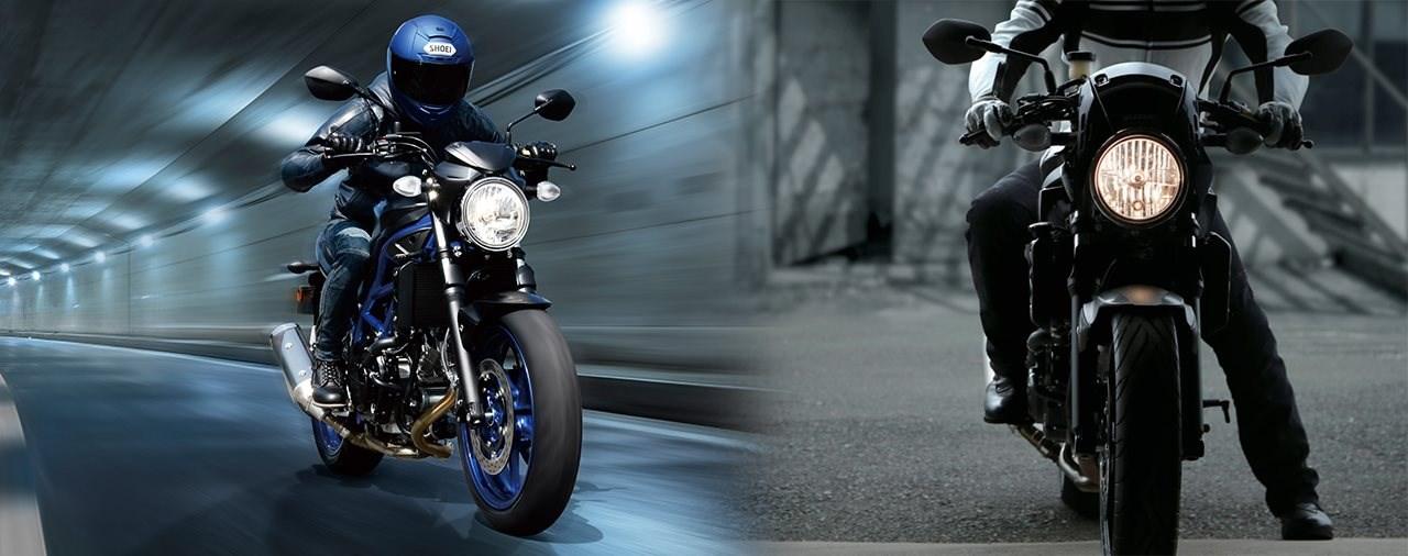 Suzuki SV650 und SV650X 2021