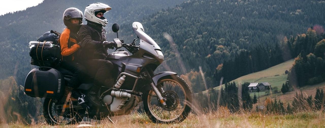 Mit dem Motorrad verreisen