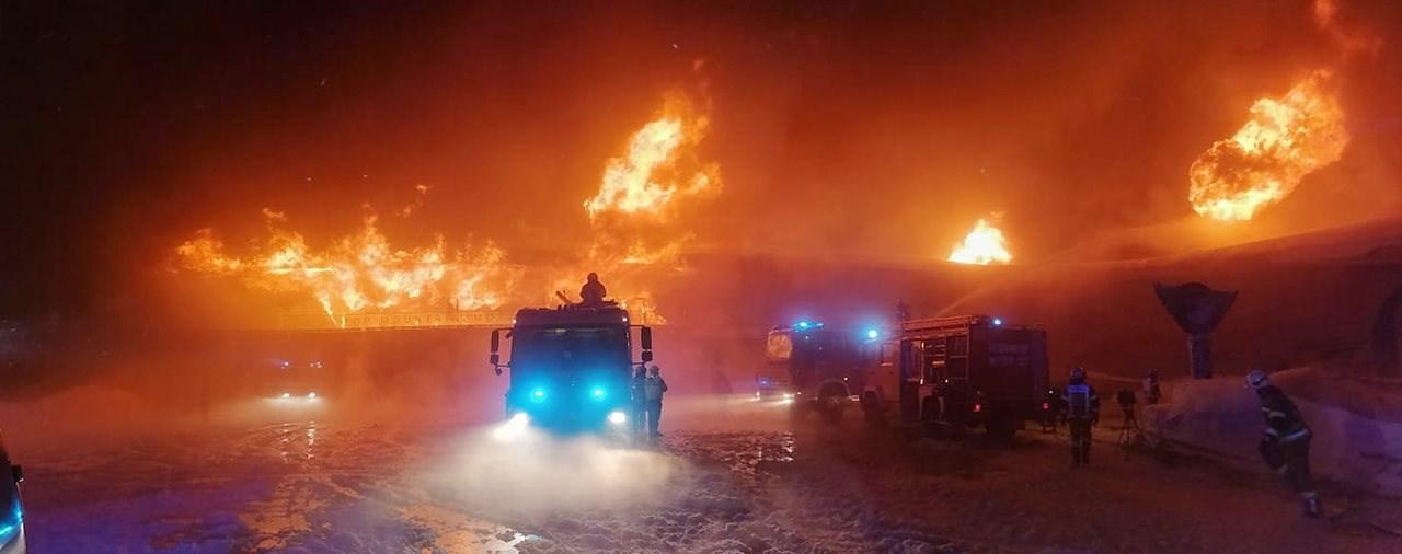 SCHOCK! Top Mountain Motorradmuseum in Tirol niedergebrannt