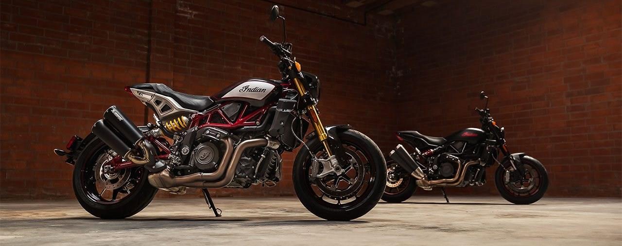 4 neue Motorrad-Modelle für Indian 2021 - Die FTR-Familie ist da!