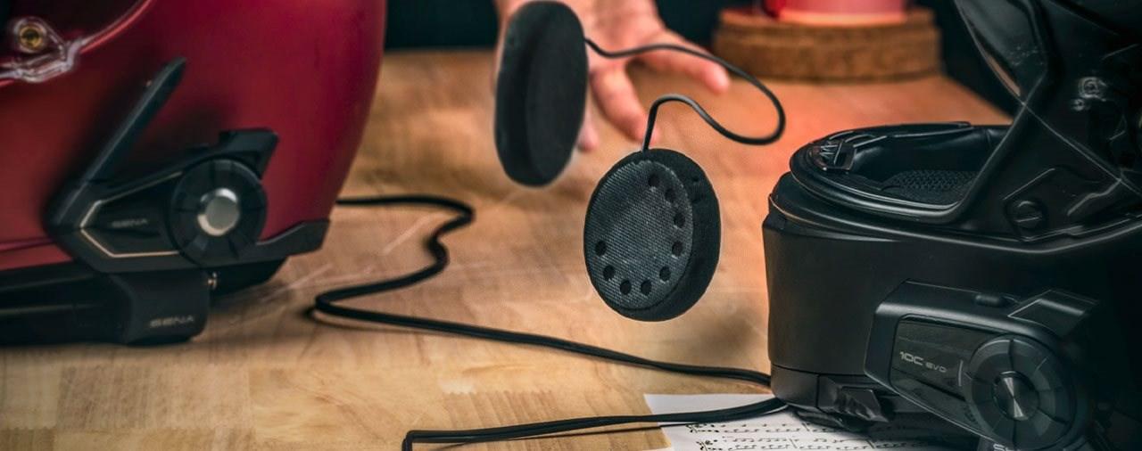HD-Lautsprecher zum Nachrüsten für SENA-Kommunikationssysteme
