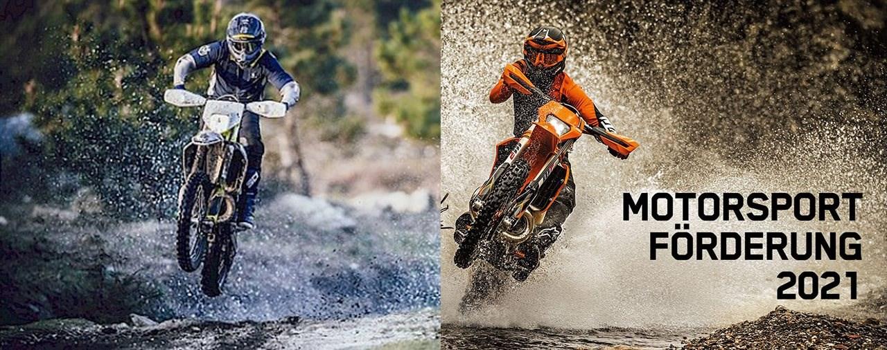 KTM und Husqvarna Motorsportförderung 2021