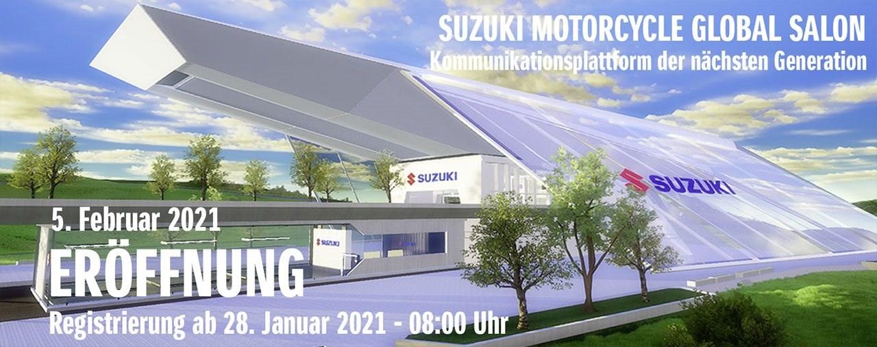 Suzuki startet bald mit virtuellem Schauraum