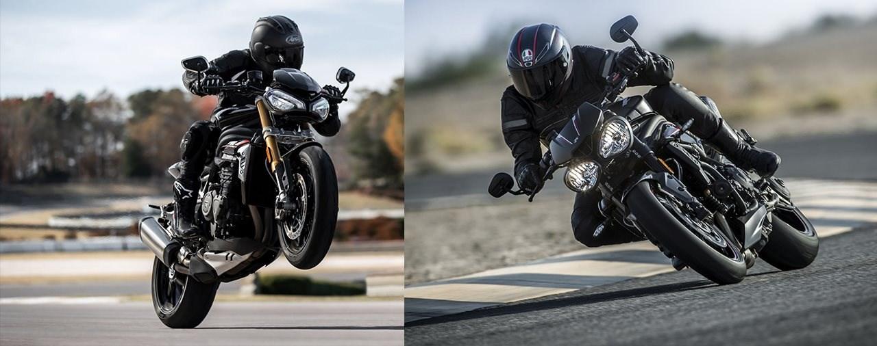 Triumph Speed Triple RS - alt gegen neu 2021!