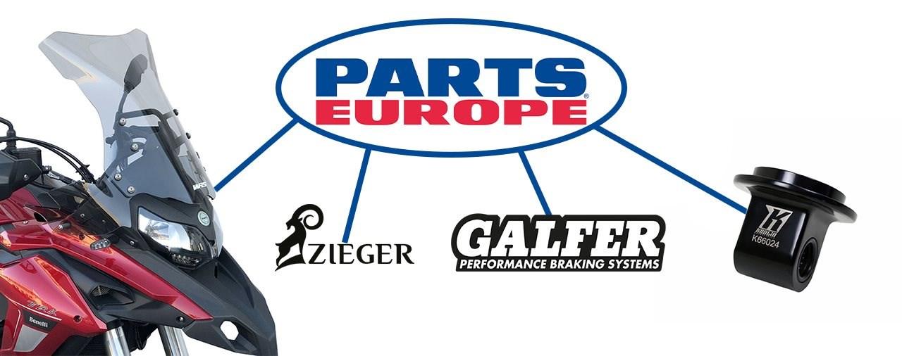 Neue Zubehör-Marken bei Parts Europe