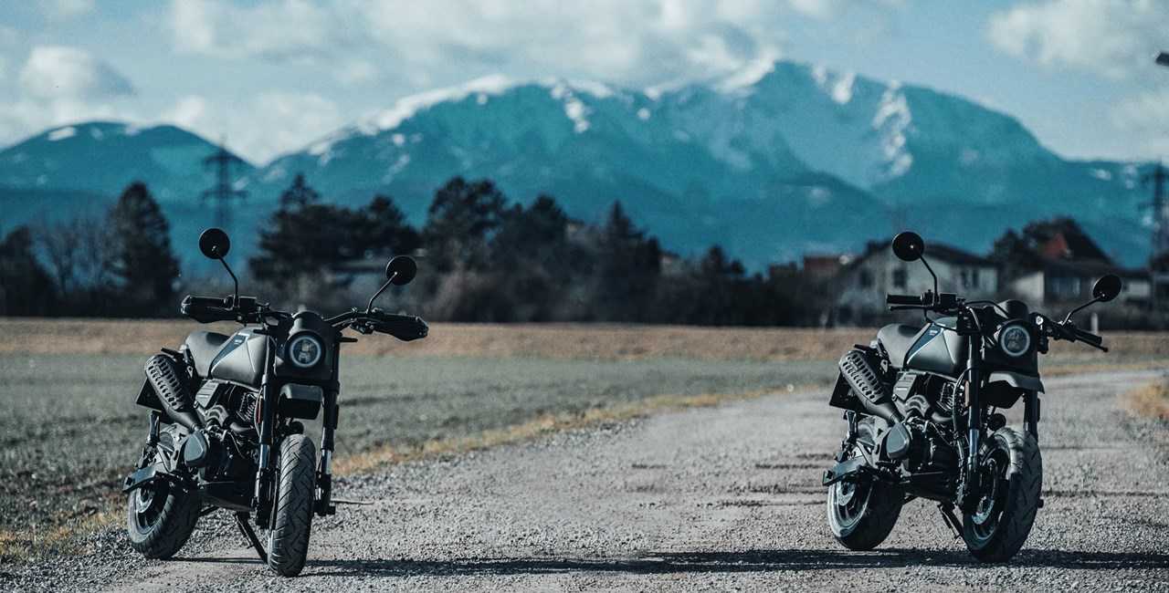 Faszination Funbike - Brixton Crossfire 125 XS auf Spassausfahrt