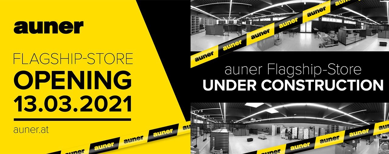 auner Flagship-Store opening