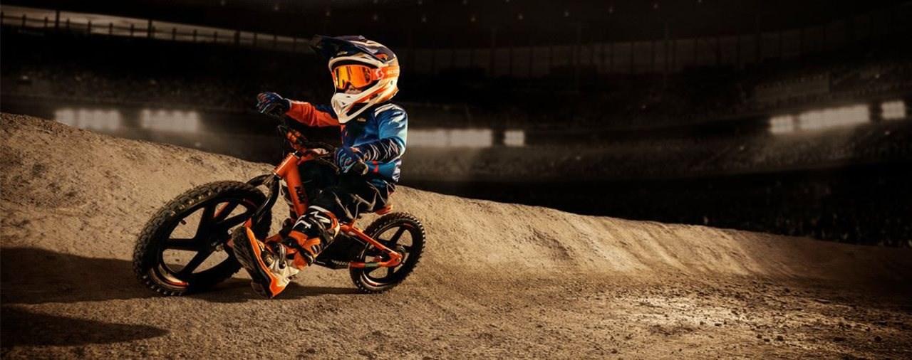 Neues KTM Elektro Laufrad für Kinder