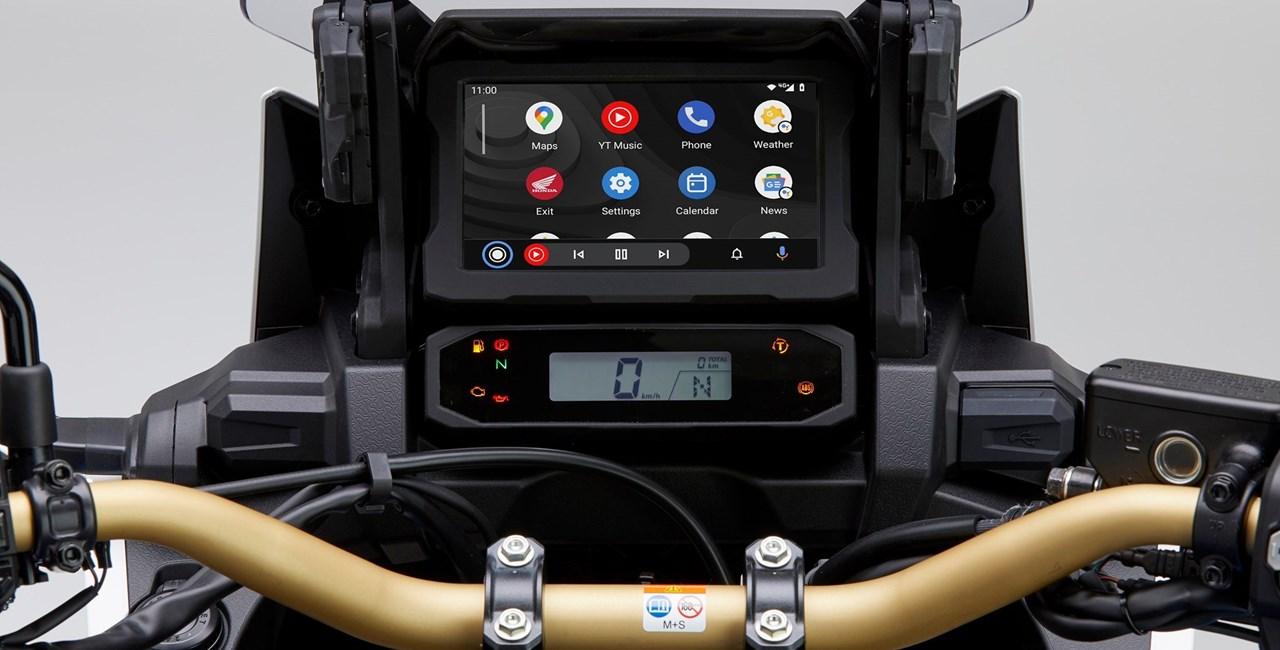 Android Auto jetzt für die Honda CRF1100L Africa Twin verfügbar!