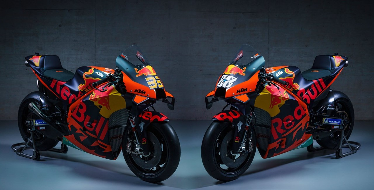 KTM Moto GP 2021 - Neue RC16 und Oliveira im Werksteam