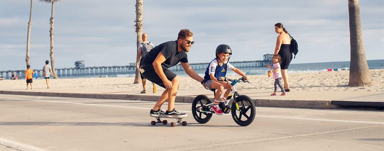 Zweirad-Power für die Kleinsten - Husqvarna eDrive Laufrad 2021