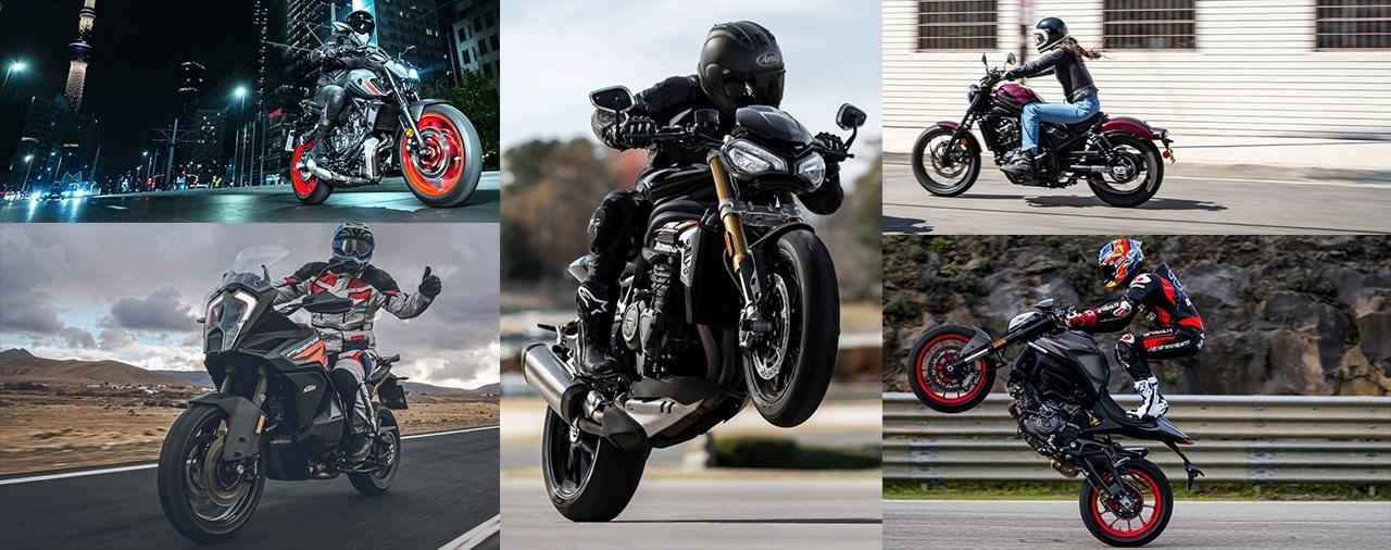 Vaulis Top 5 Motorrad-Neuheiten 2021