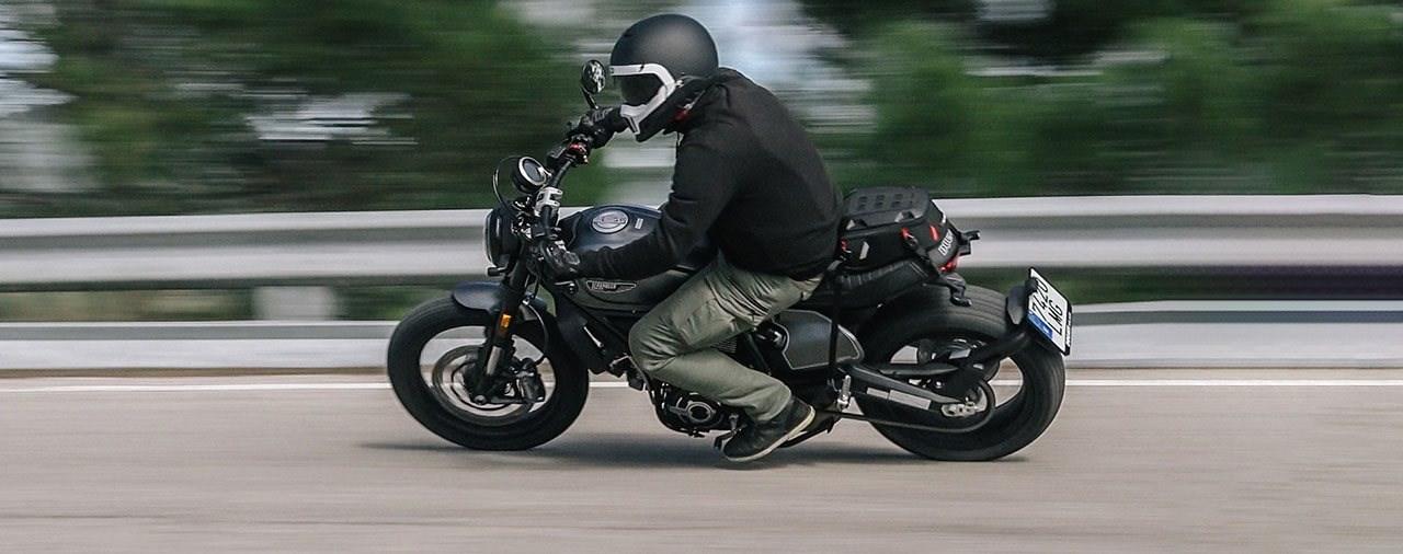Ducati Scrambler Nightshift 2021 Test