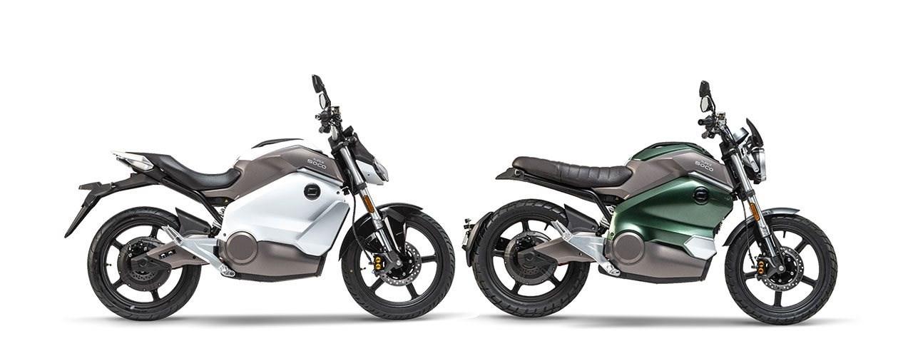 Neue Elektro-Motorräder & -Roller von Super Soco 2021