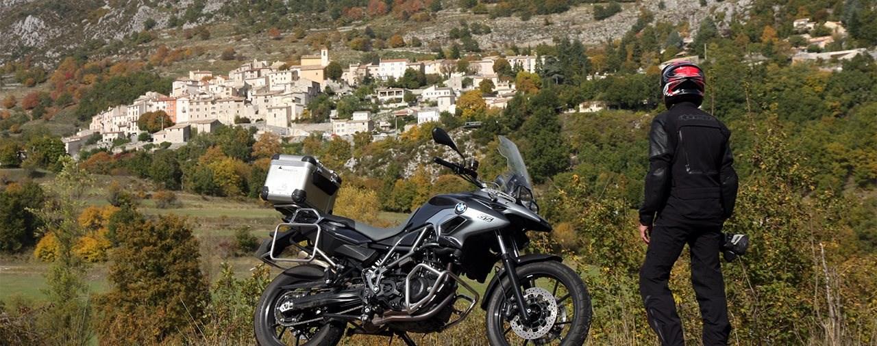 Vom Croissant zum Col - Motorrad-Reise an der Côte d'Azur