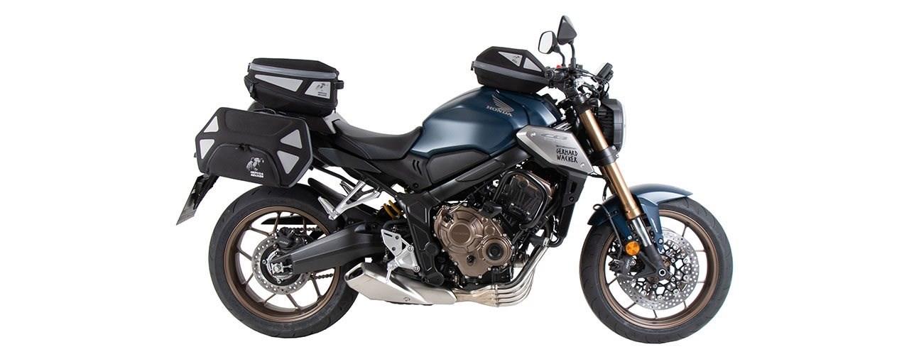 Honda CB650R (2021-) Zubehör und Gepäcksystem von Hepco&Becker