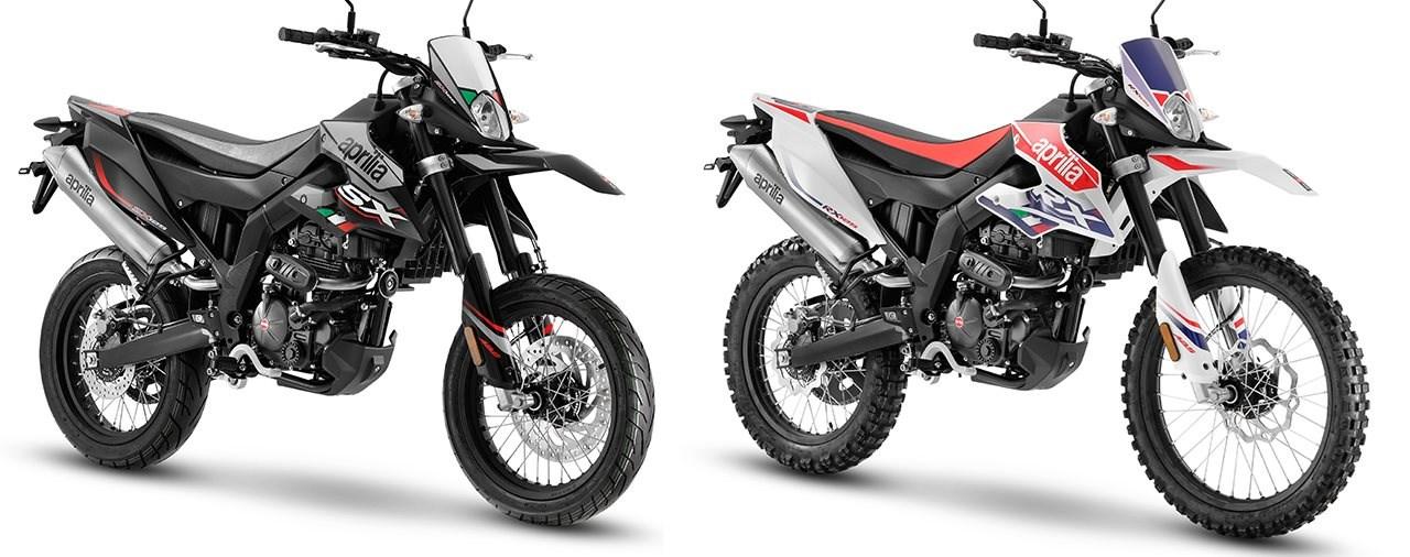Aprilia SX 125 und RX 125 2021