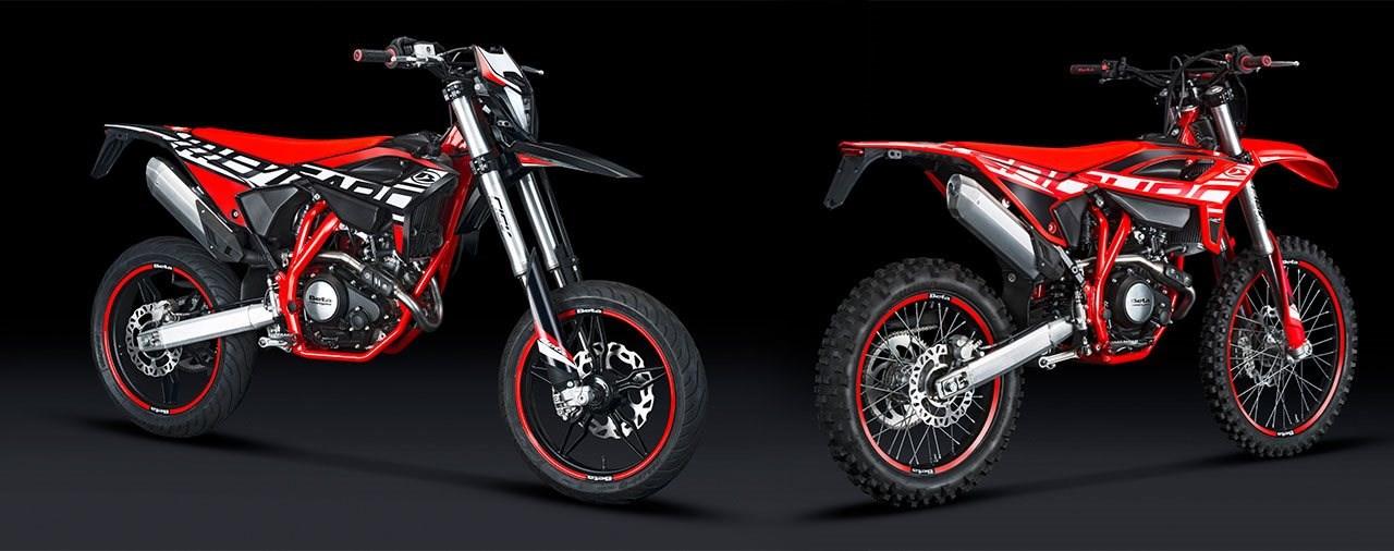 Neue Beta RR 125 LC Enduro und Motard 2021