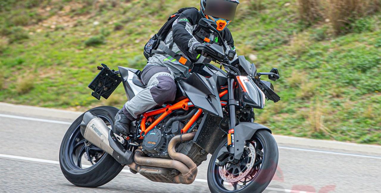 KTM 1290 Super Duke RR 2021 - Fotos vom Erlkönig-Biest