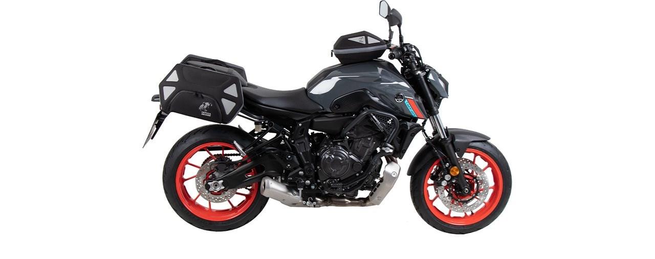 Hepco & Becker präsentiert Zubehör für die neue Yamaha MT-07 2021