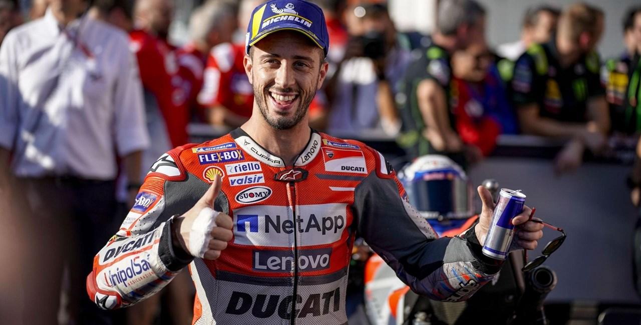 Andrea Dovizioso zurück in der MotoGP! Dovi testet Aprilia