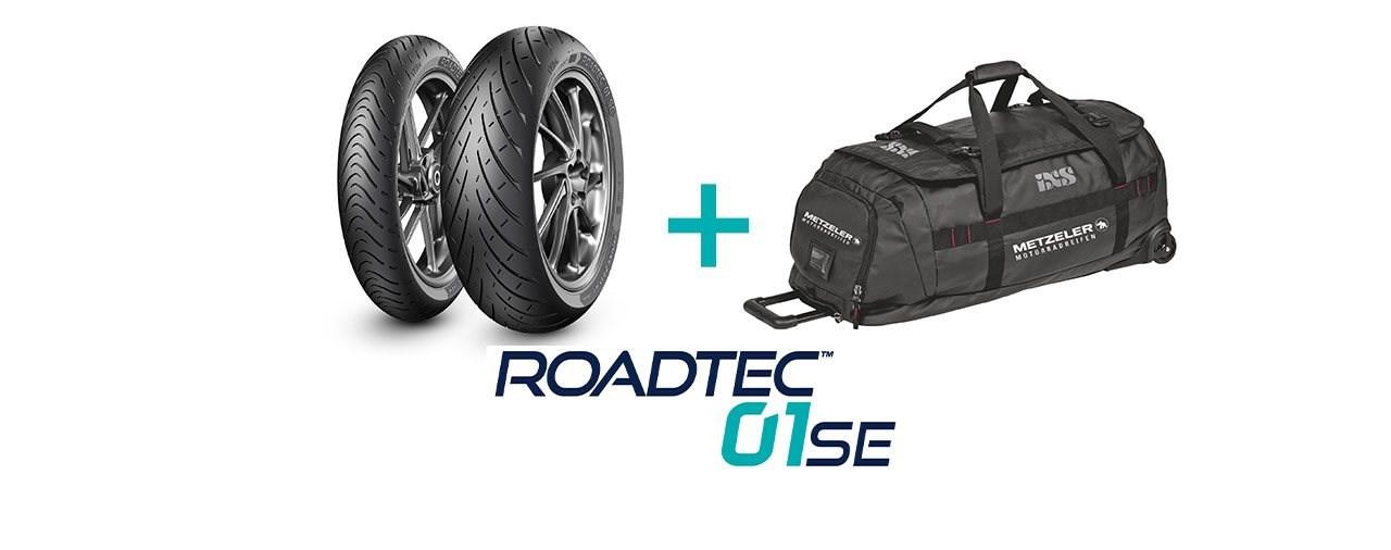 Metzeler Roadtec 01 SE Reifen kaufen und iXS-Trolley abstauben