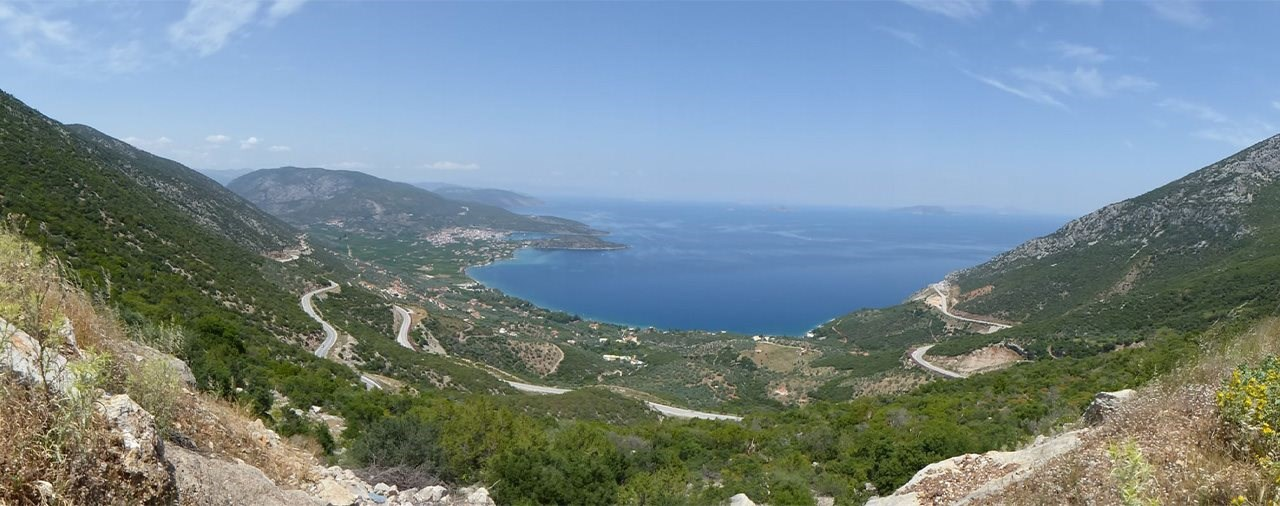 Best of Greece-Tour - Motorrad-Reise in Griechenland