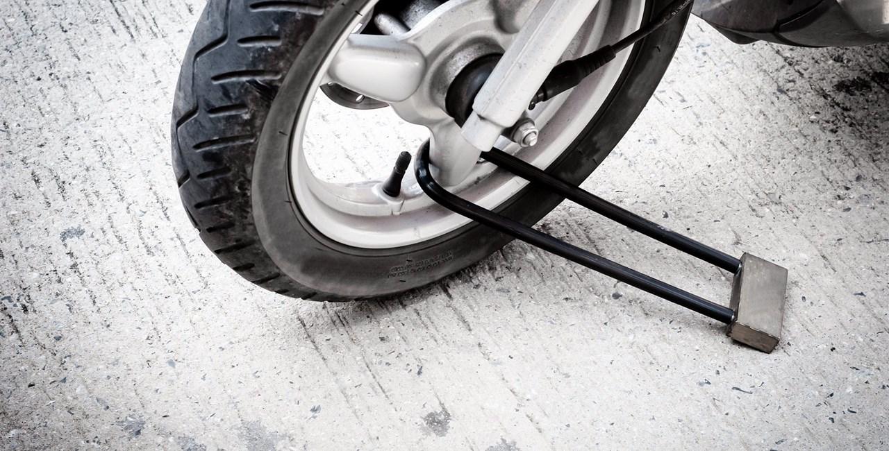Sachbeschädigung am Motorrad